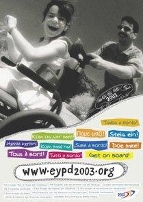 """consultar o site oficial da comissão europeia para o  """"ano europeu de pessoas com deficiência"""""""